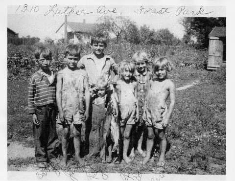 Altiery kids in early 1940's